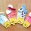 U040-5 **พร้อมส่ง** (ปลีก+ส่ง) ถุงเท้าเด็ก หญิง+ชาย COCO & BU (ขนาด 9-15 cm.) มีกันลื่น และ มีหูด้านหลัง เนื้อดี งานนำเข้า ( Made in China) thumbnail 1