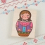 [S93251] ตัวปั้มตุ๊กตารัสเซีย Russian doll