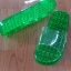K012-GR**พร้อมส่ง** (ปลีก+ส่ง) รองเท้านวดสปา เพื่อสุขภาพ ปุ่มเล็ก (ใส) สีเขียว ส่งคู่ละ 80 บ. thumbnail 3
