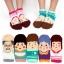 A049**พร้อมส่ง**(ปลีก+ส่ง) ถุงเท้าแฟชั่นเกาหลี ข้อสั้น มี 5 แบบ เนื้อดี งานนำเข้า( Made in Korea) thumbnail 1