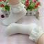 ถุงเท้าขอบระบายลูกไม้น่ารักมาก Size 34-38 thumbnail 2