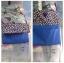 กระเป๋าสะพาย ปากพับ สะพายได้สองด้าน สีน้ำเงิน thumbnail 4