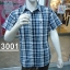 H3001 เสื้อเชิ๊ตสก้อตแขนสั้น ผู้ชาย thumbnail 1