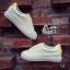 รองเท้าผ้าใบ Fashion แต่งรูปยิ้มตรงลิ้นรองเท้าและด้านหลัง เก๋ๆ thumbnail 1