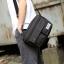 Pre-order กระเป๋าผ้าสะพายข้าง สะพายลำลองกีฬากลางแจ้ง ใส่ ipad 10 นิ้วผู้ชายแฟชั่นเกาหลี รหัส Man-3013 สีดำ thumbnail 1