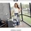 แฟชั่นเกาหลี Set เสื้อ และกระโปรง พร้อมเข็มขัดสีดำ เหมือนแบบ thumbnail 4