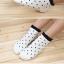 S349 **พร้อมส่ง** (ปลีก+ส่ง) ถุงเท้าแฟชั่นเกาหลี ข้อสั้น คละ 5 สี มี 12 คู่/แพ็ค เนื้อดี งานนำเข้า(Made in China) thumbnail 6