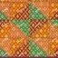 wb0165C สี่เหลี่ยมไทยตัดต่อ สีสด thumbnail 1