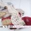 [สินค้าขายดี ลดพิเศษ 40 บาท ] ถุงเท้าสไตล์วินเทจลายดอกไม้ เหลือ สีเทาดำ thumbnail 8