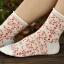 S070**พร้อมส่ง** (ปลีก+ส่ง) ถุงเท้าแฟชั่นเกาหลี ข้อยาว ขอบม้วน เนื้อดี งานนำเข้า(Made in china) thumbnail 8