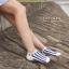 S566 **พร้อมส่ง** (ปลีก+ส่ง) ถุงเท้าแฟชั่น ข้อตาตุ่ม คละ5 สี มี 10 คู่ต่อแพ็ค เนื้อดี งานนำเข้า thumbnail 7