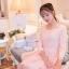 ชุดเดรส Prinstory ชุดเดรสเจ้าหญิง แฟชั่นเกาหลี ผ้าลูกไม้ชนิดยืดหยุ่นได้ดี สีชมพูโอรส แขนยาวสี่ส่วน สวยมากๆ ครับ(พร้อมส่ง) thumbnail 3