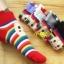 A014**พร้อมส่ง** (ปลีก+ส่ง)ถุงเท้าแฟชั่นเกาหลี ลายหัวเห็ด พับข้อ มี 5 สี (ดำ ขาว แดง เทา ม่วง) เนื้อดี งานนำเข้า ( Made in Korea) thumbnail 7