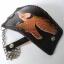 กระเป๋าสตางค์หนังแท้ ทำจากหนังวัว ด้านขอบกระเป๋าเป็นหนังถักตลอดขอบกระเป๋าพร้อมโซ้ thumbnail 4