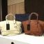 Zara Soft City Bag กระเป๋าสะพายหนังแกะสังเคราะห์เนื้อนิ่มเรียบ รุ่นใหม่ มี 2 สี thumbnail 1
