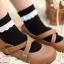 [พิเศษ 2 คู่ 100 ] ถุงเท้าระบายน่ารัก thumbnail 3