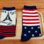[เซต3คู่] ถุงเท้าลายธงชาติ ขนาดเท้าใส่ได้ทั้งชายและหญิง thumbnail 9
