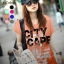 เสื้อยืดแฟชั่น ผ้าเนื้อนุ่ม ลาย City Scape สีส้ม thumbnail 1