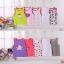 พร้อมส่ง gift set ชุดเด็กอ่อนทารกเพศหญิง เสื้อกล้าม เสื้อกั๊กแขนกุด ใส่หน้าร้อน T-66008 ไซร์ 3M (เด็ก 0-3 เดือน ) /1 แพ็ค 5 ชุดสุ่มแบบ ชุดละ 80 บาท thumbnail 1