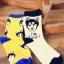 S314**พร้อมส่ง**(ปลีก+ส่ง) ถุงเท้าข้อยาว แฟชั่นเกาหลี มี 12 คู่ต่อแพ็ค พร้อมกล่อง เนื้อดี งานนำเข้า(Made in China) thumbnail 4