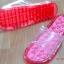 K010-RD **พร้อมส่ง** (ปลีก+ส่ง) รองเท้านวดสปา เพื่อสุขภาพ ปุ่มใหญ่ สีแดง ถอดพื้นทำความสะอาดได้ ส่งคู่ละ 180 บ. thumbnail 4