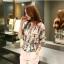 แฟชั่นเกาหลี set เสื้อ และกางเกงขายาว น่ารักมากๆ thumbnail 5