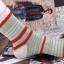 S352 **พร้อมส่ง** (ปลีก+ส่ง) ถุงเท้าแฟชั่นเกาหลี ข้อยาว คละ 5 สี มี 10 คู่/แพ็ค เนื้อดี งานนำเข้า(Made in China) thumbnail 17