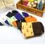 S359**พร้อมส่ง** (ปลีก+ส่ง) ถุงเท้าแฟชั่นเกาหลี ข้อยาว คละ 6 สี มี 12 คู่ต่อแพ็ค เนื้อดี งานนำเข้า(Made in China) thumbnail 1