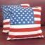 หมอนอิง ลายธงชาติอเมริกา สวยๆ งามๆ ขนาด 18 x 18 นิ้ว ขายที่ละเป็นคู่ thumbnail 3
