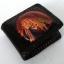 กระเป๋าสตางค์สีดำ ลายอินเดียแดง 2 พับ thumbnail 1