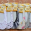 U031**พร้อมส่ง** (ปลีก+ส่ง) ถุงเท้าเด็กหญิง วัย 3-5 ขวบ ใส่กับคัทชู ลวดลายสวย เนื้อดี งานนำเข้า ( Made in China) thumbnail 2