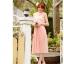 ชุดเดรส Brand YOCO นำเข้าของแท้ 100% ชุดเดรสผ้าชีฟอง+ลูกไม้อย่างดี สีชมพูหวานๆ น่ารักมากๆ (พร้อมส่ง) thumbnail 2