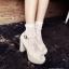 ถุงเท้าลูกไม้เกาหลี ถุงเท้าลายลูกไม้ฉลุแฟร์ชั่นเกาหลี สวยเก๋ไม่ซ้ำใครเหมาะกับรองเท้าหลากหลายแบบ thumbnail 1