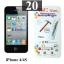 ฟิล์มกระจก iPhone 4/4s 9MC แผ่นละ 28 บาท (แพ็ค 20) thumbnail 1