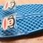 K011-SBL **พร้อมส่ง** (ปลีก+ส่ง) รองเท้านวดสปา เพื่อสุขภาพ ปุ่มเล็ก ลิง Pual Frank สีฟ้า ส่งคู่ละ 150 บ. thumbnail 2