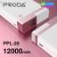 Proda PPL-20 แบตสำรอง Power bank 12000 mAh ลดเหลือ 425 บาท ปกติ 1,060 บาท thumbnail 1