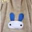 [พรีออเดอร์] ชุดเสื้อคลุมน่ารัก เสื้อกันหนาวหูกระต่ายสีขาว thumbnail 13