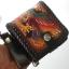 กระเป๋าสตางค์ลวดลายนกอินทรีย์ 2 พับ พร้อมโซ่Line id : 0853457150 thumbnail 2