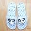 K020-ฺSBL2**พร้อมส่ง** (ปลีก+ส่ง) รองเท้านวดสปา เพื่อสุขภาพ ปุ่มใหญ่สลับเล็ก (การ์ตูน) สีฟ้าลายหมีแพนด้า ส่งคู่ละ 150 บ. thumbnail 2