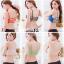บรา3สาย 3-stripe bras บราสายไขว้ สไตล์สปอร์ตบราขนาดฟรีไซต์ 32/34/36 Candy Color thumbnail 16