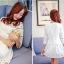 เสื้อผ้าแฟชั่นเกาหลี แบบ 2 ชิ้น (เสื้อ + กระโปรง) พร้อมส่ง thumbnail 4