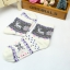 S362**พร้อมส่ง** (ปลีก+ส่ง) ถุงเท้าแฟชั่นเกาหลี ข้อยาว คละ 5 สี มี 12 คู่ต่อแพ็ค เนื้อดี งานนำเข้า(Made in China) thumbnail 16