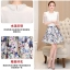 แฟชั่นเกาหลี set 2 ชิ้น เสื้อและกระโปรง สวยมากครับใส่ทำงานได้ thumbnail 10