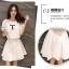 แฟชั่นเกาหลี set เสื้อและกระโปรงน่ารักมากๆ ครับ thumbnail 5