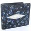 กระเป๋าสตางค์หนังปลากระเบนแท้ ลายเสือ สีน้ำเงิน สวยงาม หรูหรา Line id : 0853457150 thumbnail 1