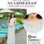 ชุดเดรสยาวสุดหรู แฟชั่นเกาหลีมาใหม่ ผ้าชีฟอง สีขาว อัดพลีตเล็กๆ ทั้งตัว thumbnail 6