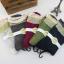 S179 **พร้อมส่ง** (ปลีก+ส่ง) ถุงเท้าแฟชั่นเกาหลี ข้อยาว เนื้อดี งานนำเข้า(Made in China) thumbnail 1