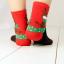 ถุงเท้าน่ารักลายลุงแซนต้า-ขอบเขียว thumbnail 7