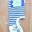 S033**พร้อมส่ง**(ปลีก+ส่ง) ถุงเท้าข้อสั้นใต้ตาตุ่ม ลายขวาง มี 5 สี เนื้อดี งานนำเข้า thumbnail 5