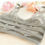 บรา3สาย 3-stripe bras บราสายไขว้ สไตล์สปอร์ตบราขนาดฟรีไซต์ 32/34/36 Candy Color thumbnail 15